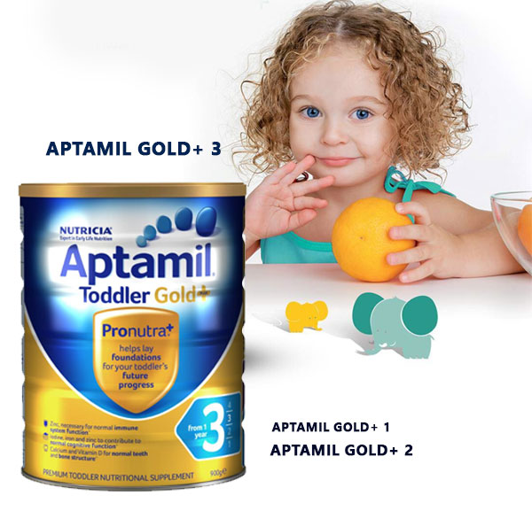 Aptamil Gold+