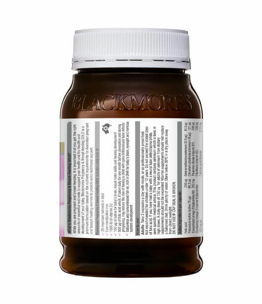 Blackmores-Pregnancy-and-Breastfeeding-Gold-180-Capsules