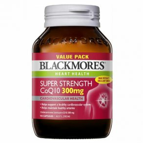 Blackmores Super Strength CoQ10 300mg 90 Tablets Exclusive Size