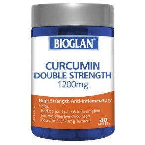 Bioglan Curcumin Double Strength 1200mg