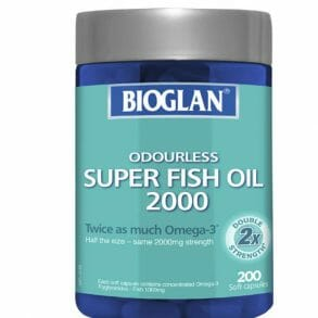 Bioglan Super Fish Oil 2000mg