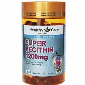 Healthy Care Super Lecithin 1200mg 100
