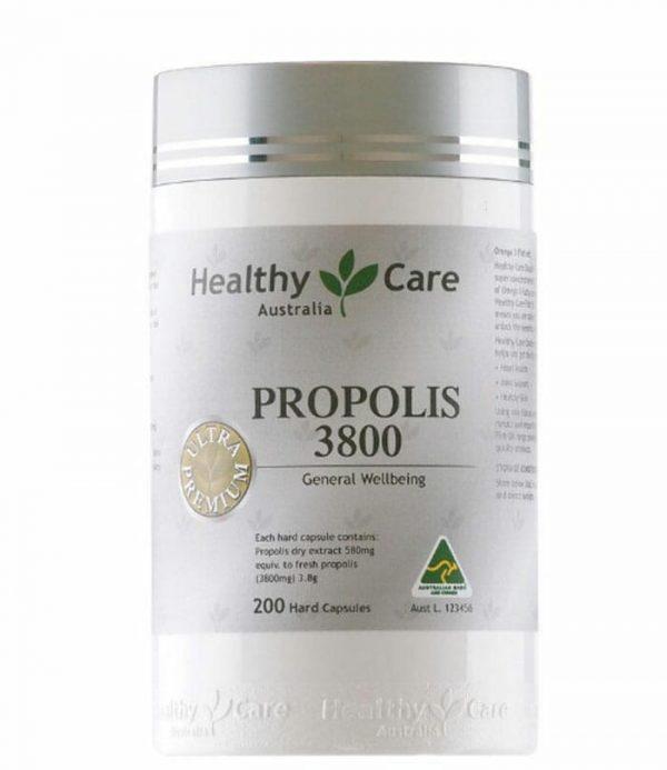 Healthy Care Ultra Premium Propolis 3800mg 200 Capsules