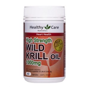 Healthy Care Wild Krill Oil 1000mg