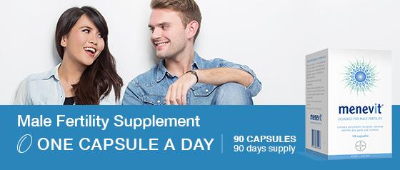 Menevit Male Fertility 90 capsules