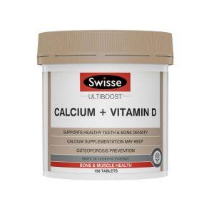 Swisse Ultiboost Canxi + Vitamin D