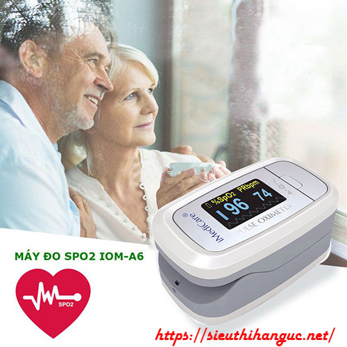 Máy đo SpO2 và nhịp tim là gì