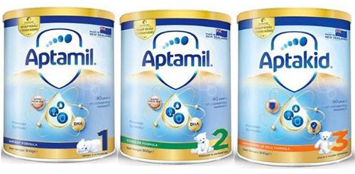 Sữa Aptamil New Zealand review
