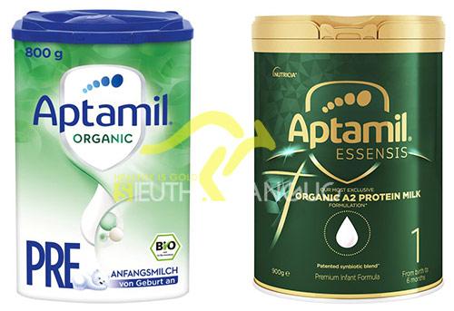 sữa aptamil organic Pre
