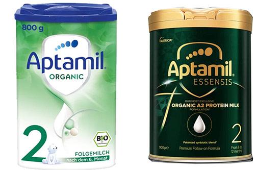 Sữa Aptamil organic số 2