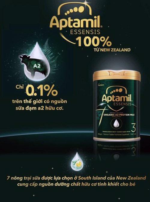 sữa aptamil organic số 3
