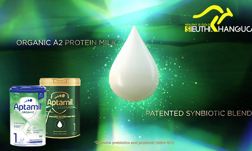 sữa Aptamil organic a2